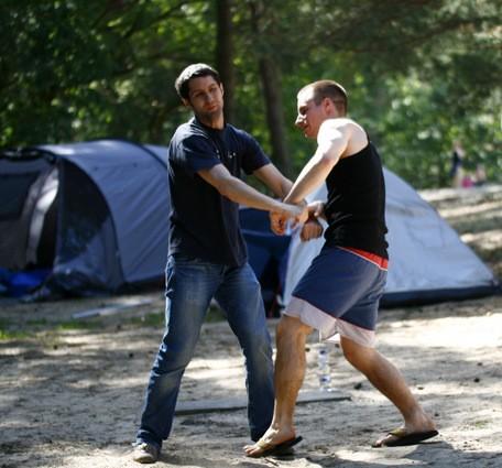 Wing Chun Camping Selbstverteidigung